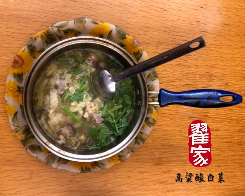 簡易又營養的「酸白菜肉絲湯」